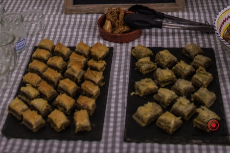 Baklawa aux pistaches